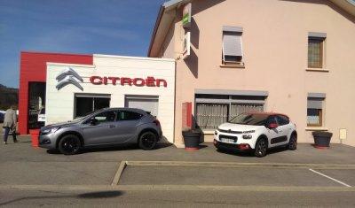 Vente de véhicules CITROËN d'occasion par garage automobile à Nurieux-Volognat